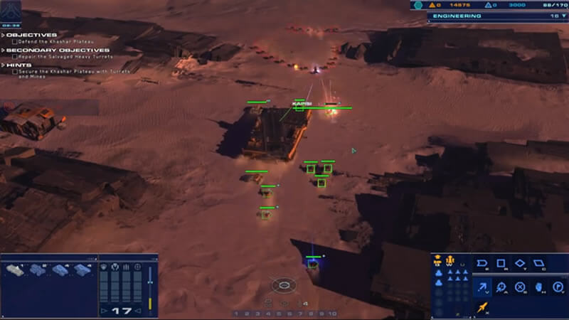 Cinema Director and Homeworld: Deserts of Kharak
