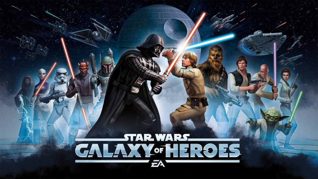 Star Wars Galaxy of Heroes developed with Cinema Director