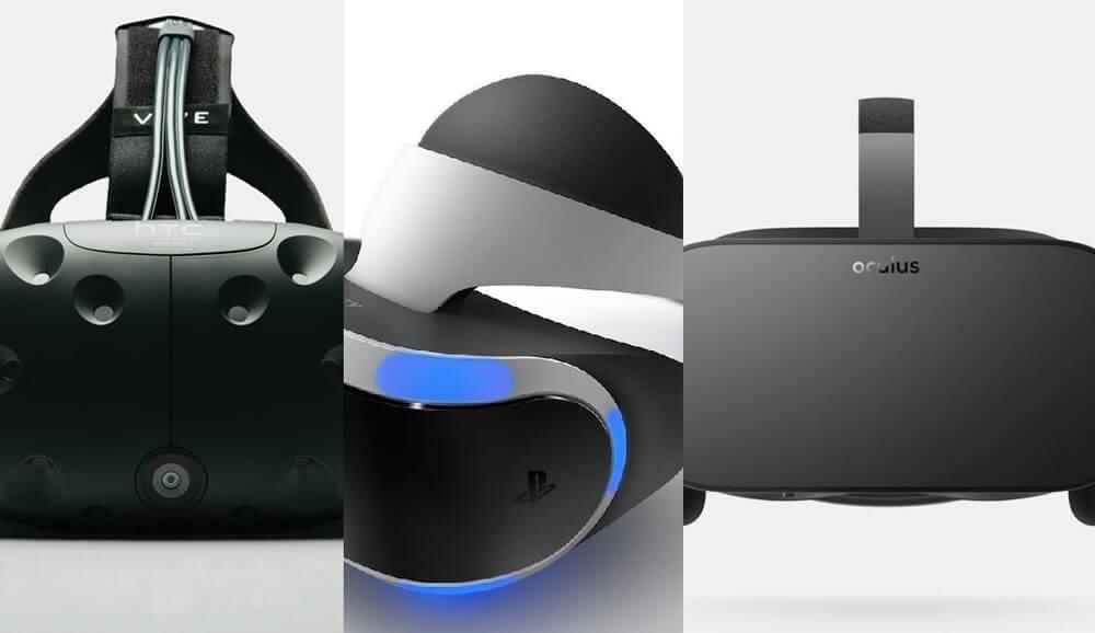 VR Oculus playstation vive
