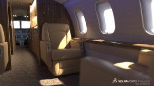 SOLIDWORKS Visualize Aerospace 1