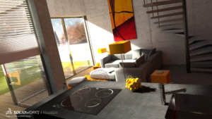 SOLIDWORKS Visualize Architectural Example 10