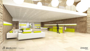 SOLIDWORKS Visualize Architectural Example 8