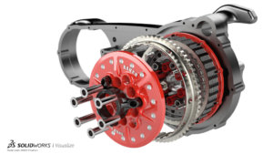 SOLIDWORKS Visualize Mechanical Example 1