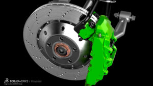 SOLIDWORKS Visualize Mechanical Example 17