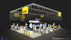 SOLIDWORKS Visualize Trade Show Example 10