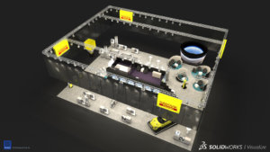 SOLIDWORKS Visualize Trade Show Example 11