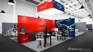 SOLIDWORKS Visualize Trade Show Example 14