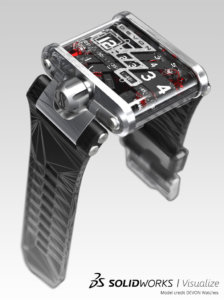 SOLIDWORKS Visualize Watches Example 2