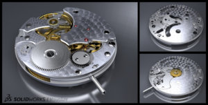 SOLIDWORKS Visualize Watches Example 5