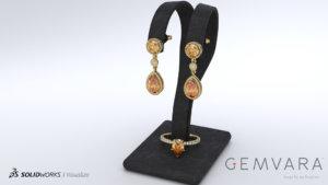 SOLIDWORKS Visualize Jewelry 01