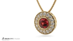 SOLIDWORKS Visualize Jewelry 02
