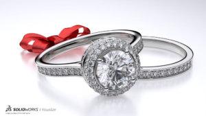 SOLIDWORKS Visualize Jewelry 03