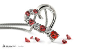 SOLIDWORKS Visualize Jewelry 04