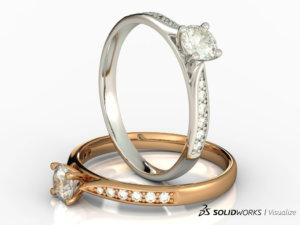 SOLIDWORKS Visualize Jewelry 06