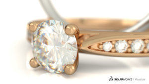 SOLIDWORKS Visualize Jewelry 07
